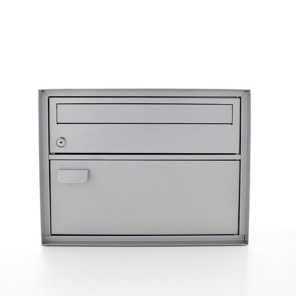 Profirst Mail PM 200 Briefkasten Silber