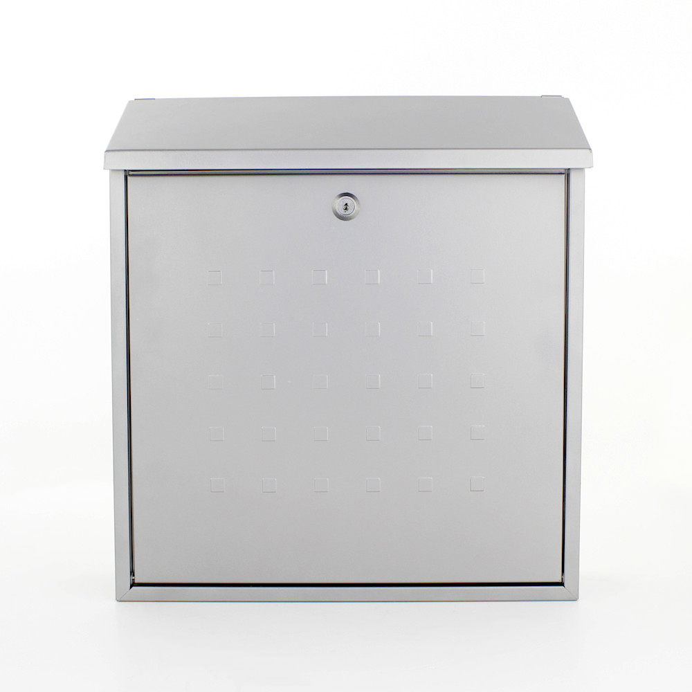 Profirst Mail PM 340 Briefkasten Silber