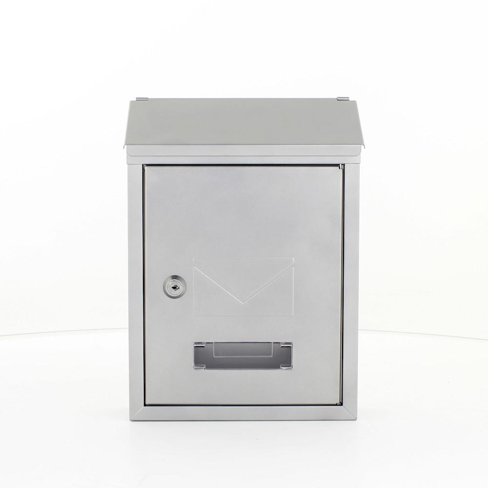 Profirst Mail PM 400 Briefkasten Silber