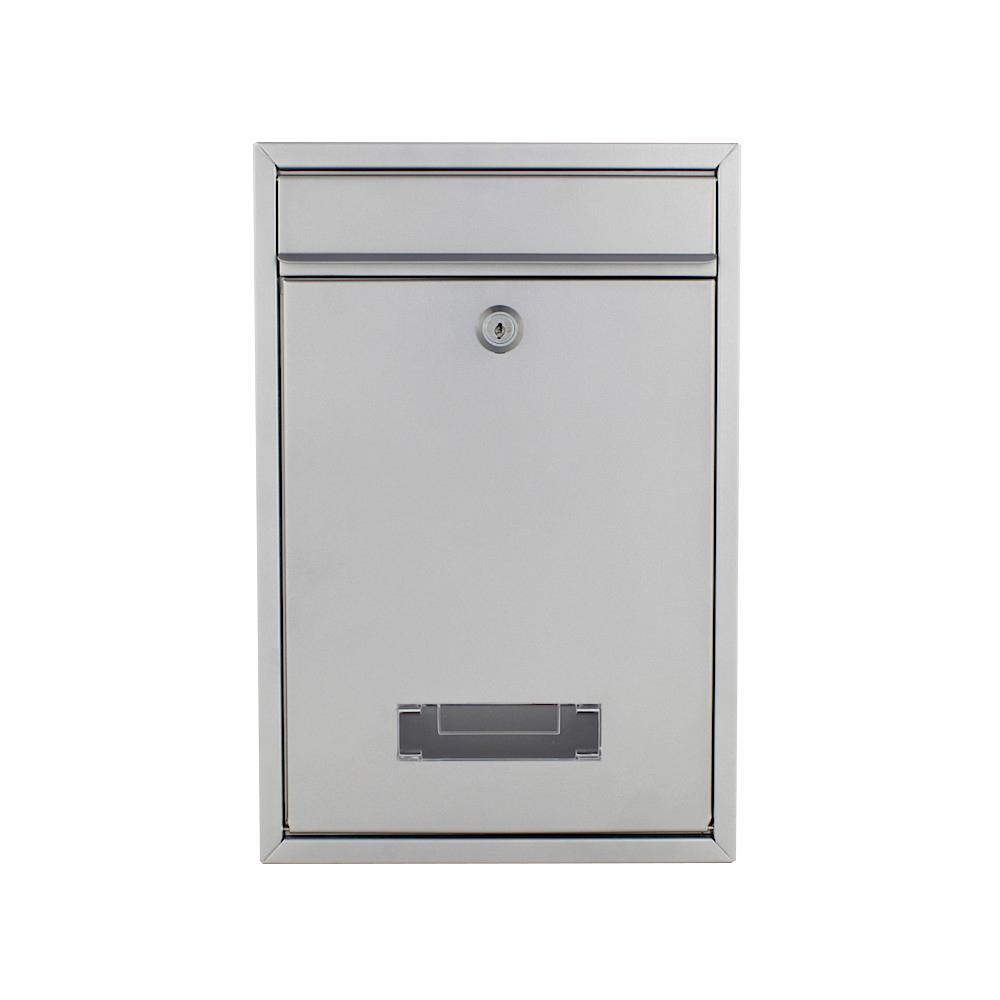 Profirst Mail PM 480 Briefkasten Silber