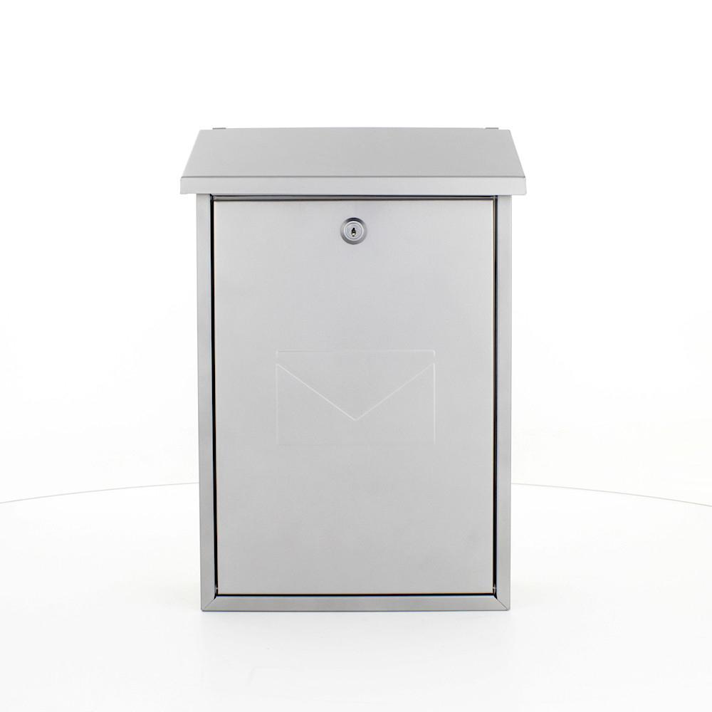 Profirst Mail PM 570 Briefkasten Silber