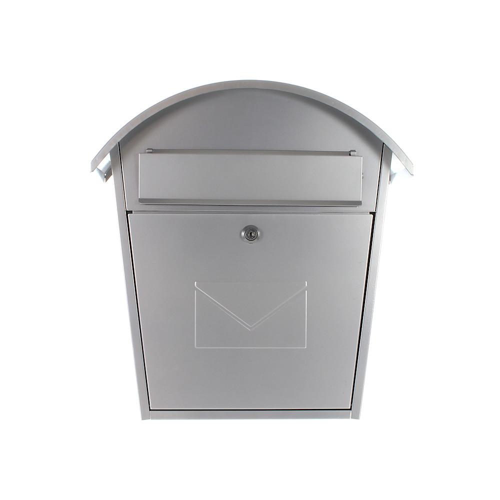 Profirst Mail PM 710 Briefkasten Silber
