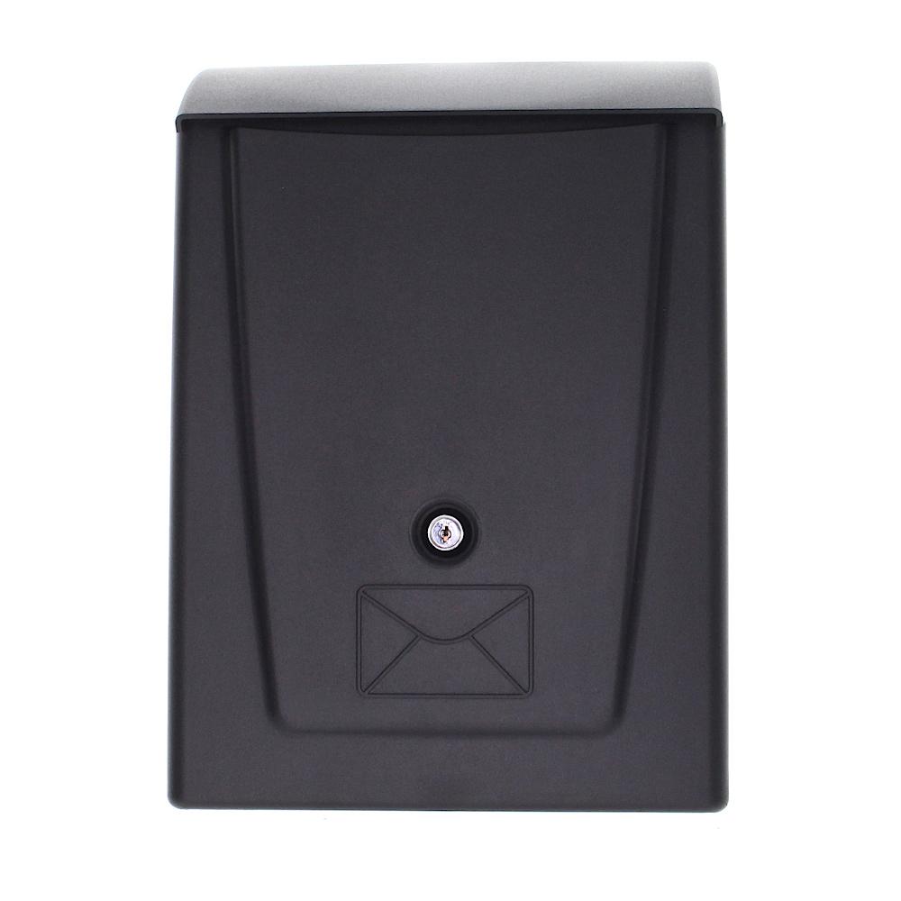 Profirst Mail PM 780 Kunststoff Briefkasten Schwarz
