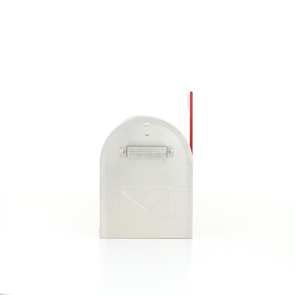 Rottner Briefkasten Mailbox ALU silber