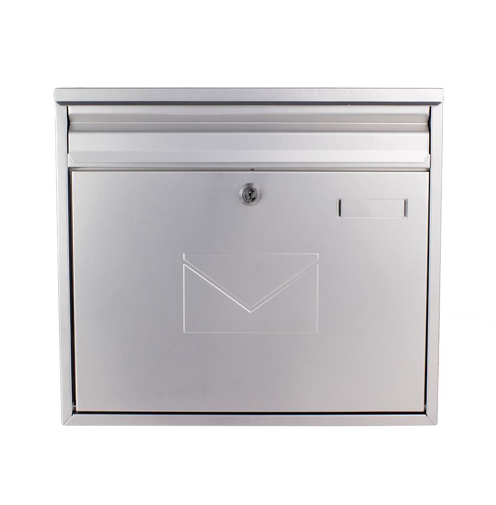 Rottner Briefkasten Teramo Silber