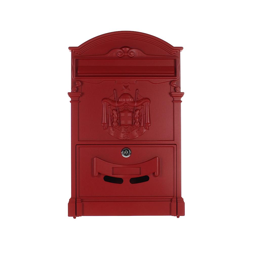 Rottner Briefkasten Ashford Rot