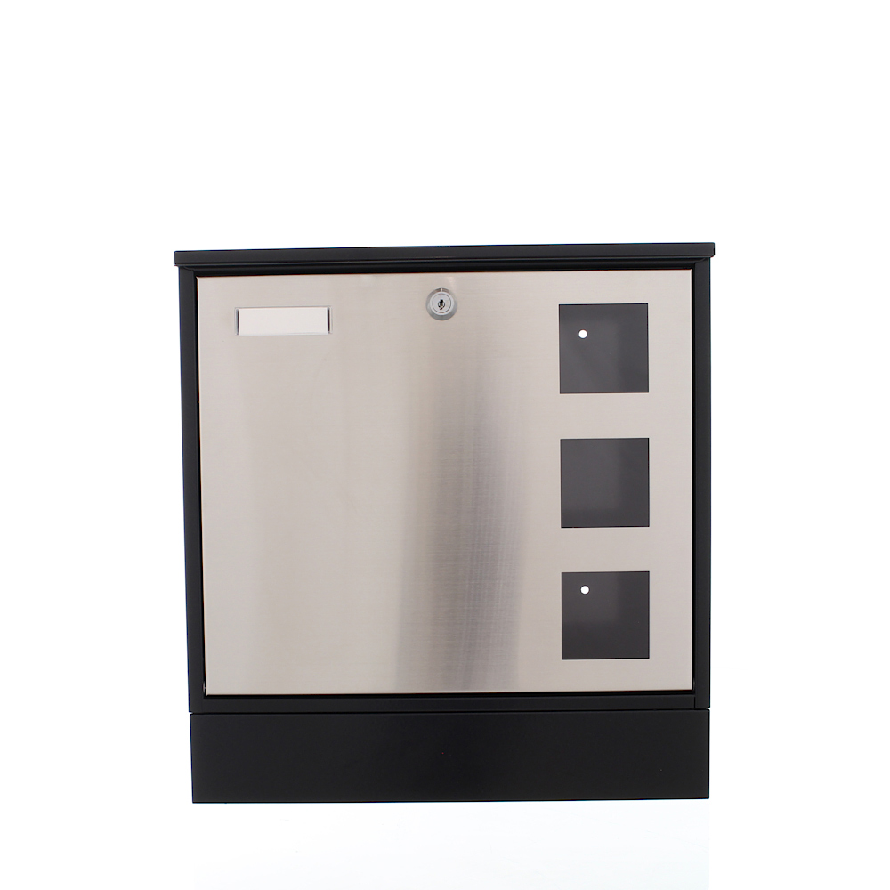 Rottner Briefkasten Design Mailbox schwarz