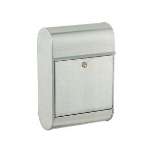 Allux Stahlbriefkasten 8900 mit 5-pin
