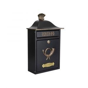 Heibi Briefkasten Mereno Landhausstil 64063-027 schwarz