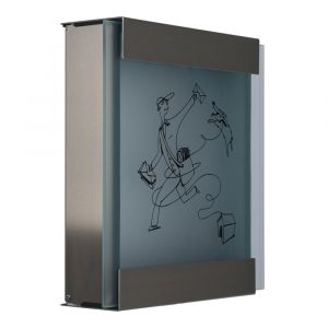 Keilbach Briefkasten glasnost glas bedrucktes Glas michl-luz 07 1119