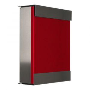 Keilbach Briefkasten Glasnost Rot 071313