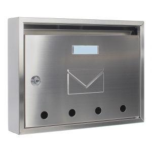 Profirst Mail PM 100 Briefkasten Edelstahl