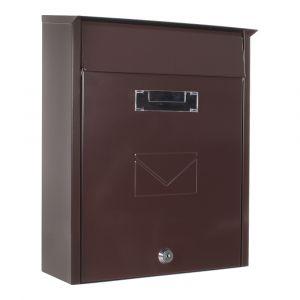 Profirst Mail PM 450 Briefkasten Braun
