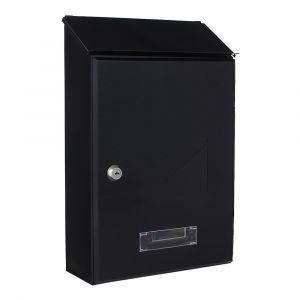 Profirst Mail PM 560 Briefkasten Schwarzgrau