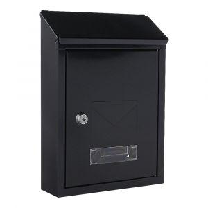 Rottner Briefkasten Udine schwarzgrau