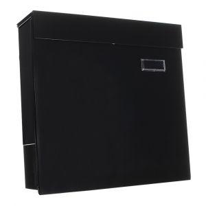 Rottner Briefkasten Kensington schwarz